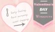 Journée à thème Entraînements de 8 Valentine pour obtenir votre cœur de pompage