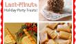 16 Tasty & Quick dernière minute Christmas Party Treats