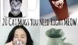 20 Grands Tasses Cat Vous Besoin Meow droit