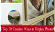 Top 10 des façons créatives pour afficher les photos