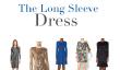 La robe à manches longues: 15 Options sur un budget