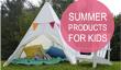 8 Fun Produits d'été en plein air pour les enfants