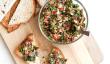 Eve Apéritif Facile Nouvel An - tomates séchées et olives tapenade Toasts