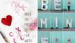 Les meilleurs projets de bricolage de la semaine - Valentine édition!
