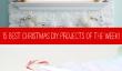15 projets de bricolage de Noël Meilleur de la Semaine!