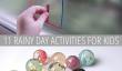 11 Rainy Day bricolage activités pour les enfants
