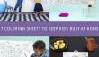 7 Coloriages Fiches de OMY pour garder vos enfants occupés à la maison