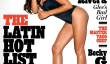 "Naya Rivera roulant Couverture Stone: ""Glee"" étoile nommée Liste latine Hot Hot TV 2013 Queen [PIC]"