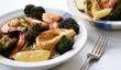Rapide Real Food: Spicy Shrimp rôti et au brocoli