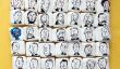 Présidentielle Portraits alimentaire Art