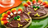 Activités pour les enfants de Thanksgiving, y compris les cookies et décoration
