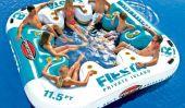 Idées d'été: 1-8 Personne île flottante