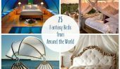 25 Fantastique lits du monde entier