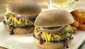 Sliders barbecue de boeuf pour dimanche du Super Bowl