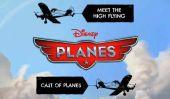 Avions Disney: rencontrer les personnages High Flying et la Voix Cast derrière eux
