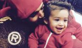 "Chris Brown bébé Libre de Nouvelles 2015: ""New Flame"" Chanteur Cheap Out at-sur Birthday Party Fille?  [Photos]"