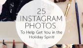 25 photos Instagram pour vous mettre dans l'esprit des Fêtes!