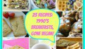 90s hôtes Allé Vegan: 23 Recettes!