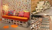 10 Idées créatives pour décorer avec des blocs de béton