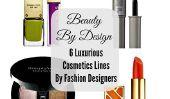 Beauté By Design: 6 cosmétiques de luxe Lines par des designers de mode