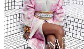 Rihanna semble magnifique Dans Balmain: Verser It Up Singer est le nouveau visage de printemps 2014 de la campagne française Étiquette [PIC]
