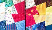 Patchwork pour le printemps - avec ces tissus et de couleurs réussit de