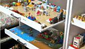 Façons d'organiser Jouets en salle de jeux