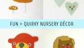Fun et original Décor de nurserie