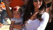 Devious Maids Roselyn Sanchez et Eric Winter Hubby repéré avec bébé Sebella à Pumpkin Patch (Photos)