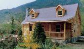 1230 SF Log Home (plans)