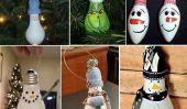 Ampoule Snowman lumière bricolage