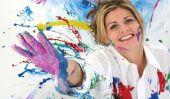 Peinture des murs - Idées pour motif créatif
