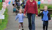 L'exercice avec un enfant en bas âge
