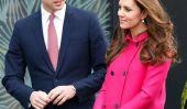 William et Kate Surprise fans extérieur de l'hôpital avec Petit Treats
