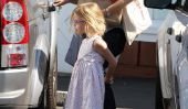 Jennifer Garner et sa fille Violet Shops Dans Brentwood (Photos)