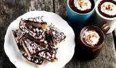 Cooking Savory Sweet Life avec les enfants: Barres au chocolat à la menthe