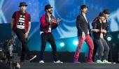 Le Backstreet Boys chantent en espagnol Pendant Mexique Concert [Voir]