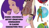 Université Disney: Artiste créative Reimagines 16 personnages classiques sur un campus du Collège