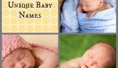 25 cloyingly Unique Baby Names, Alias le nouveau symbole de statut parental