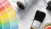 Mélanger les couleurs des murs - de sorte que vous obtenir la couleur désirée