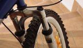Vélo - fourche de changement correctement