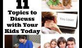 Êtes-vous un responsable Parent numérique?  11 sujets à discuter avec vos enfants aujourd'hui