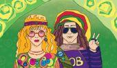 vêtements de flower power - donc vous pimenter vos vêtements dans le style hippie sur