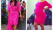 Copies Kim Kardashian Ambre Roses maternité style Encore une fois!  (Photos)
