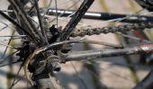 Bike - utilisation à une pulvérisation de rouille réussi