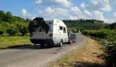 Voyager à travers l'Europe - donc nous allons avec la caravane