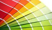 Couleur du mur palette - sélection des couleurs tellement de succès