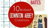10 Brilliant Downton Abbey Creations