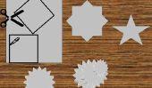 Comment faire une étoile sur papier mâché?