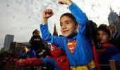 La Congrégation plus grandes Superheroes à Melbourne